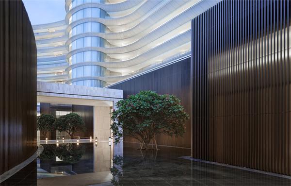 酒店工程案例-海南蓝湾小镇威斯汀度假酒店图片展示