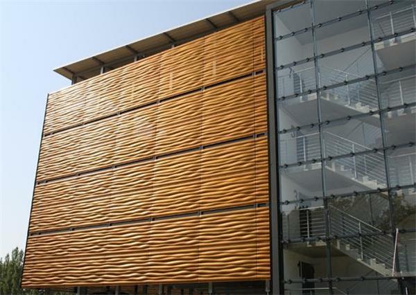 冲孔氟碳铝单板幕墙